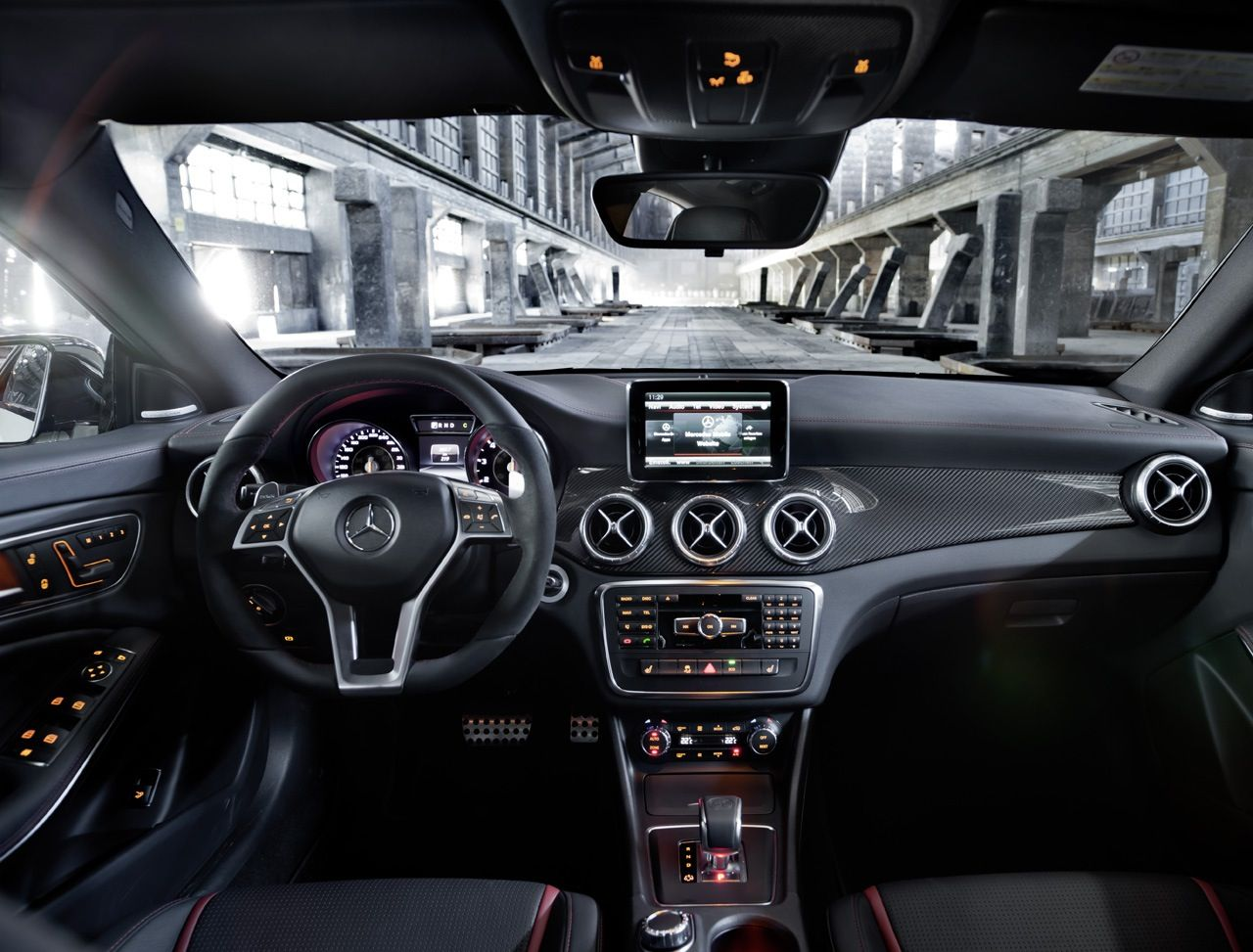 Interior Of Mercedes Benz Cla Amg 2014 Cla 45 Amg Mercedes