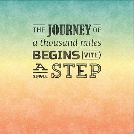Quotes Journey Best The Journey Of A Thousand Miles Begins With A Single Stepfamous