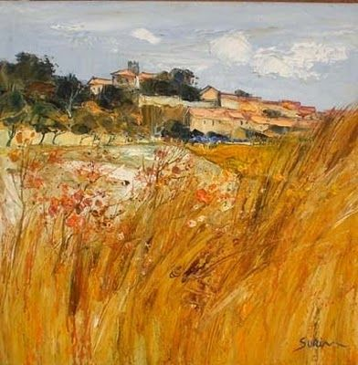 Landscape Painting By Jean Paul Surin French Artist Landscape Paintings Landscape Artist Contemporary Landscape Painting