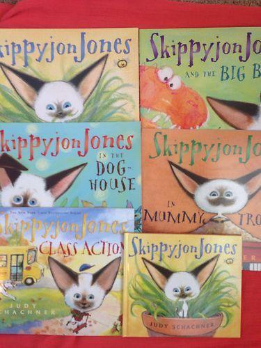 Skippyjon Jones Book Set Lot By Judy Schachner Ebay Skippyjon