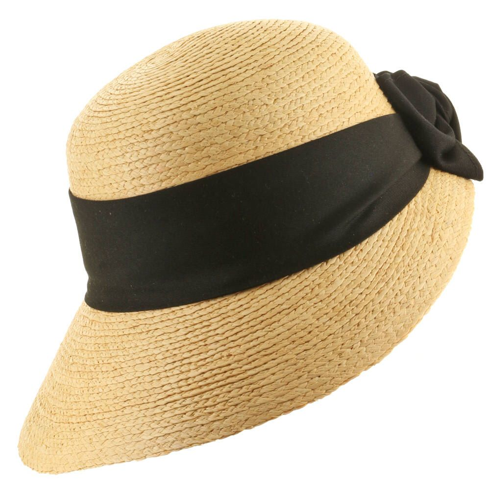 Golf visor scoop panama straw hat womens with images
