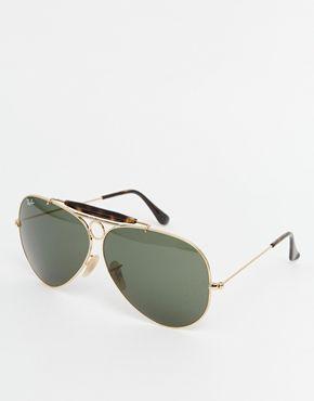 002256af5fcf7 Ray-Ban Aviator Sunglasses Moda Para Mujeres