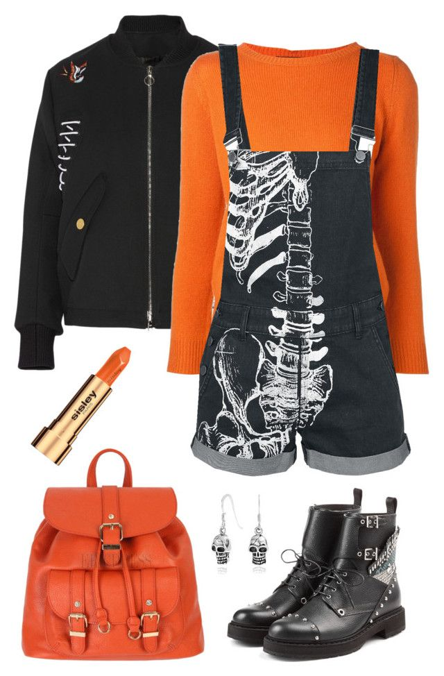 """""""Sans titre #3348"""" by celyana ❤ liked on Polyvore featuring Tim Coppens, Sofie D'hoore, Fendi and Sisley"""