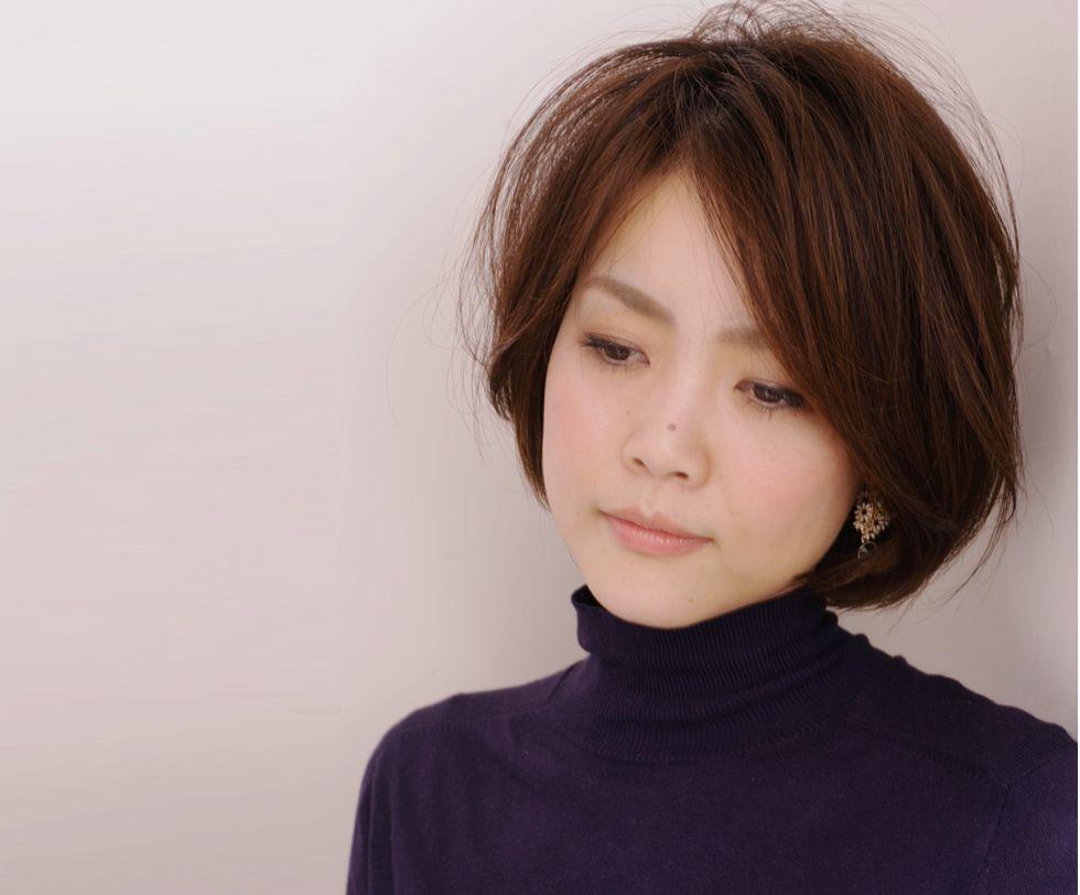 40代髪型ヘアスタイルカタログ ショートボブ |アリーズヘアー青山 .