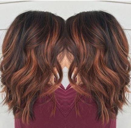 Hair Auburn Highlights Bob Haircuts 56+ New Ideas