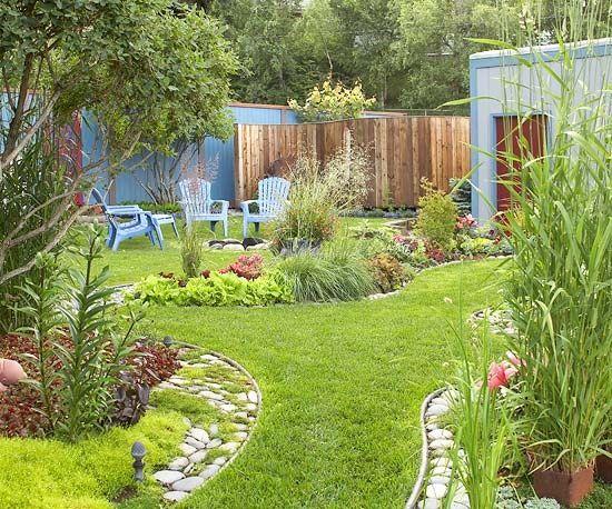 Plan de jardin anglais id es d coration int rieure for Plan amenagement jardin anglais