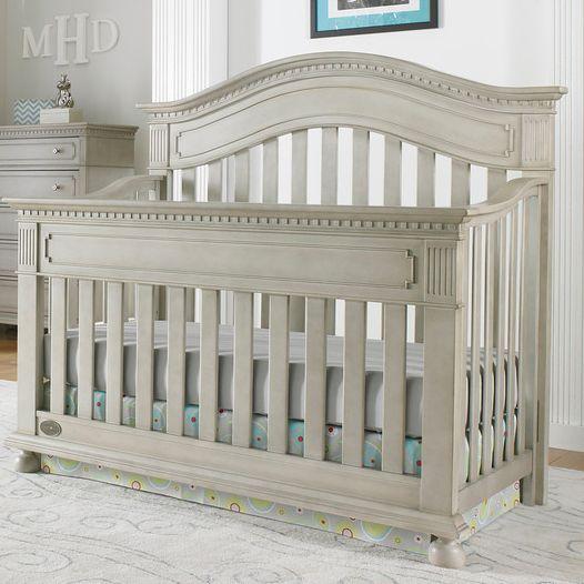 Naples Gray Crib Bfpk Baby Nursery Furniture Baby