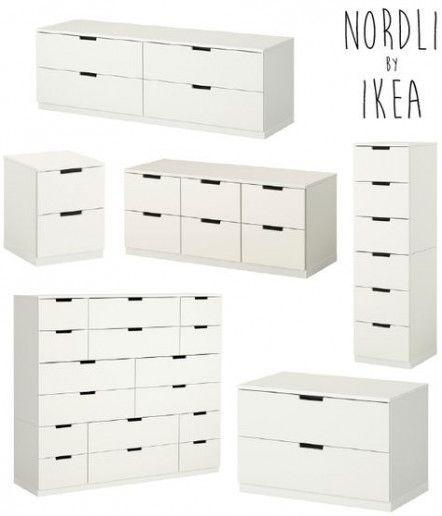 Flure Haus Deko Und Flur Design: 16+ Ideen Fürs Schlafzimmer Ikea Nordli Design