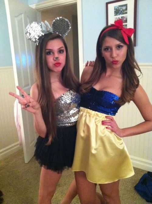 diy halloween - Homemade Halloween Costumes College Girls