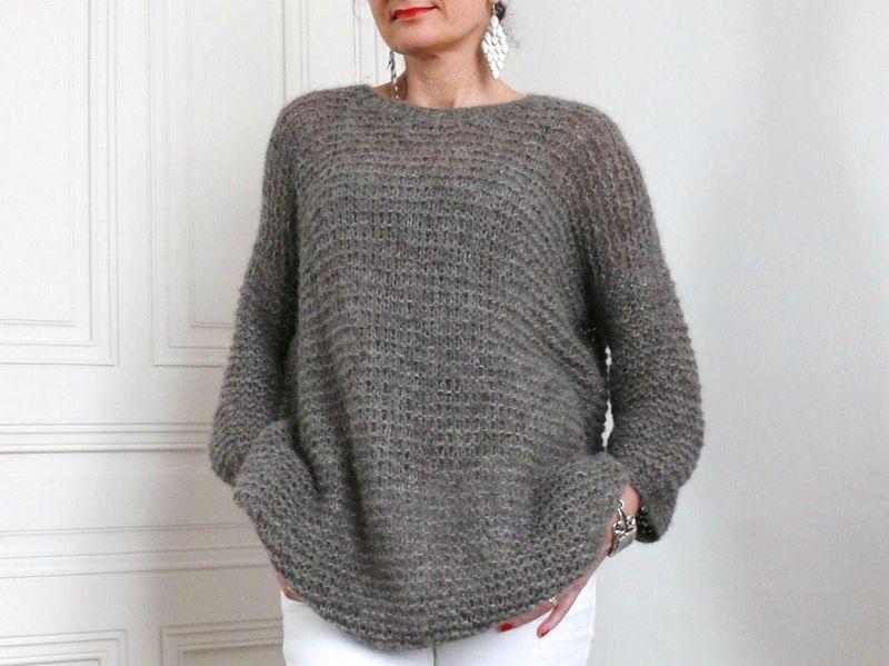 La douceur mousseuse de Benoit - Bee made | Tricot, Modele tricot et Tricot pull