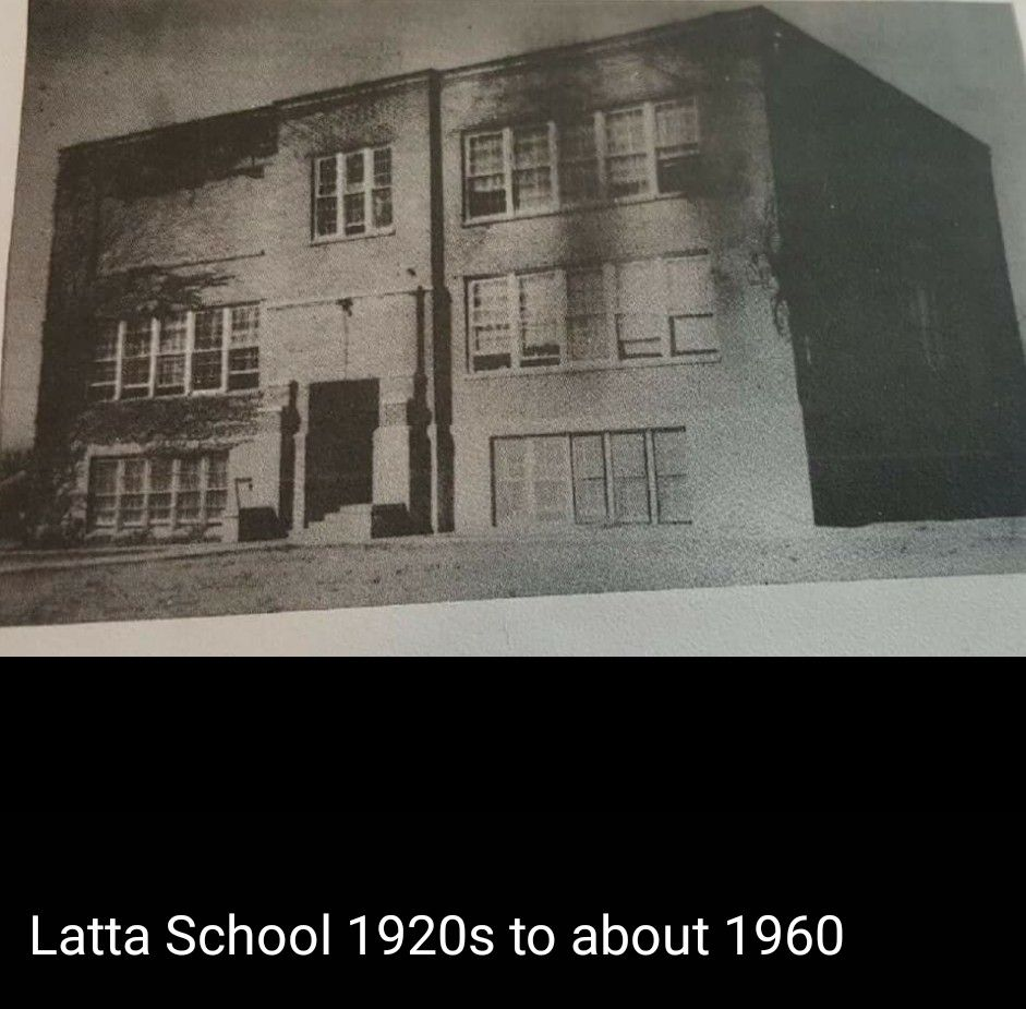 Latta Oklahoma School 1920-1960. Photo Provided By Lee