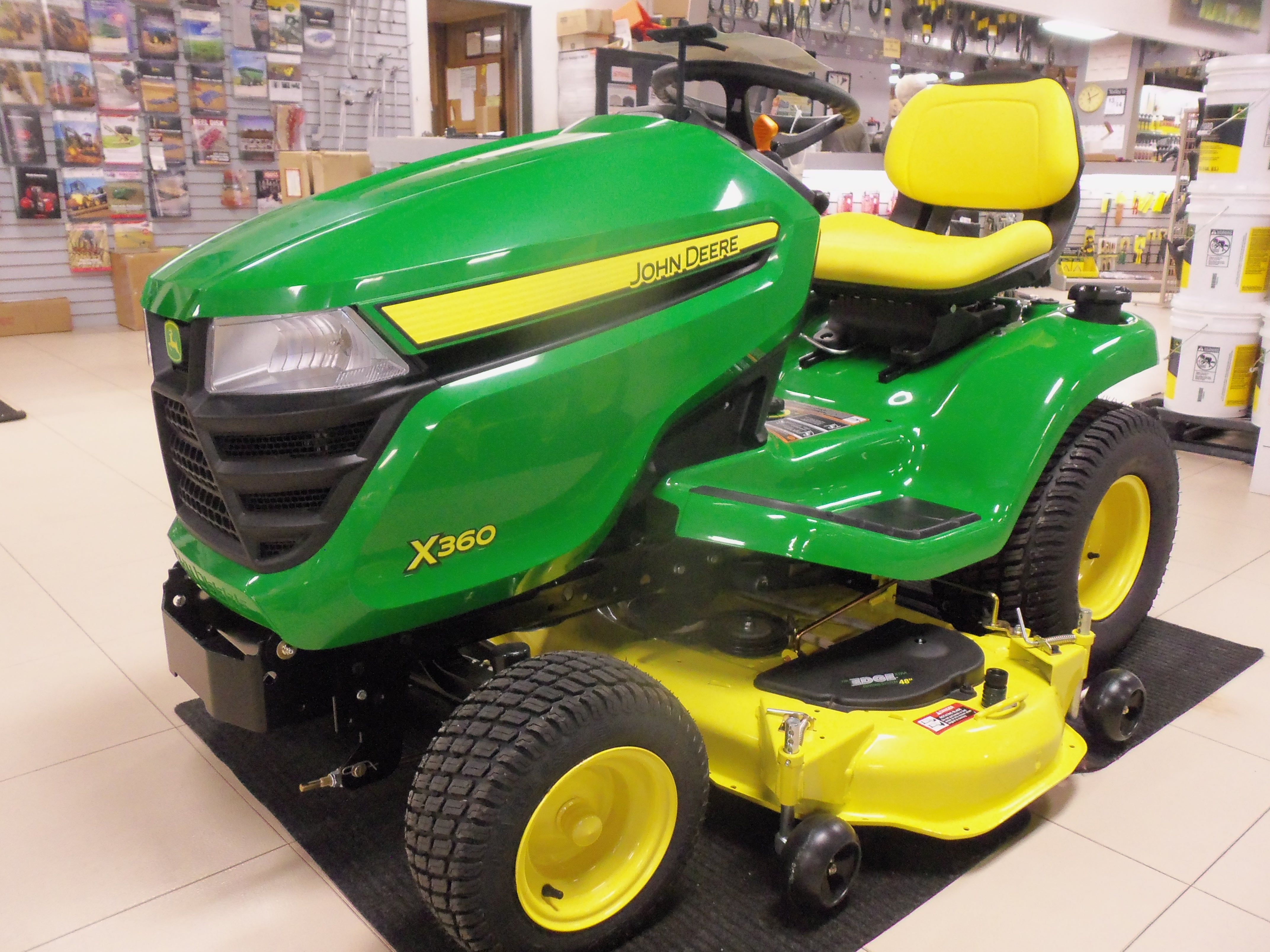 john deere x360 lawn tractor john deere equipment pinterest rh pinterest  com John Deere X300 Operators Manual John Deere X300 Operators Manual