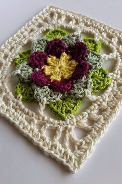 Fhool Square Free Pattern Httpspinterest