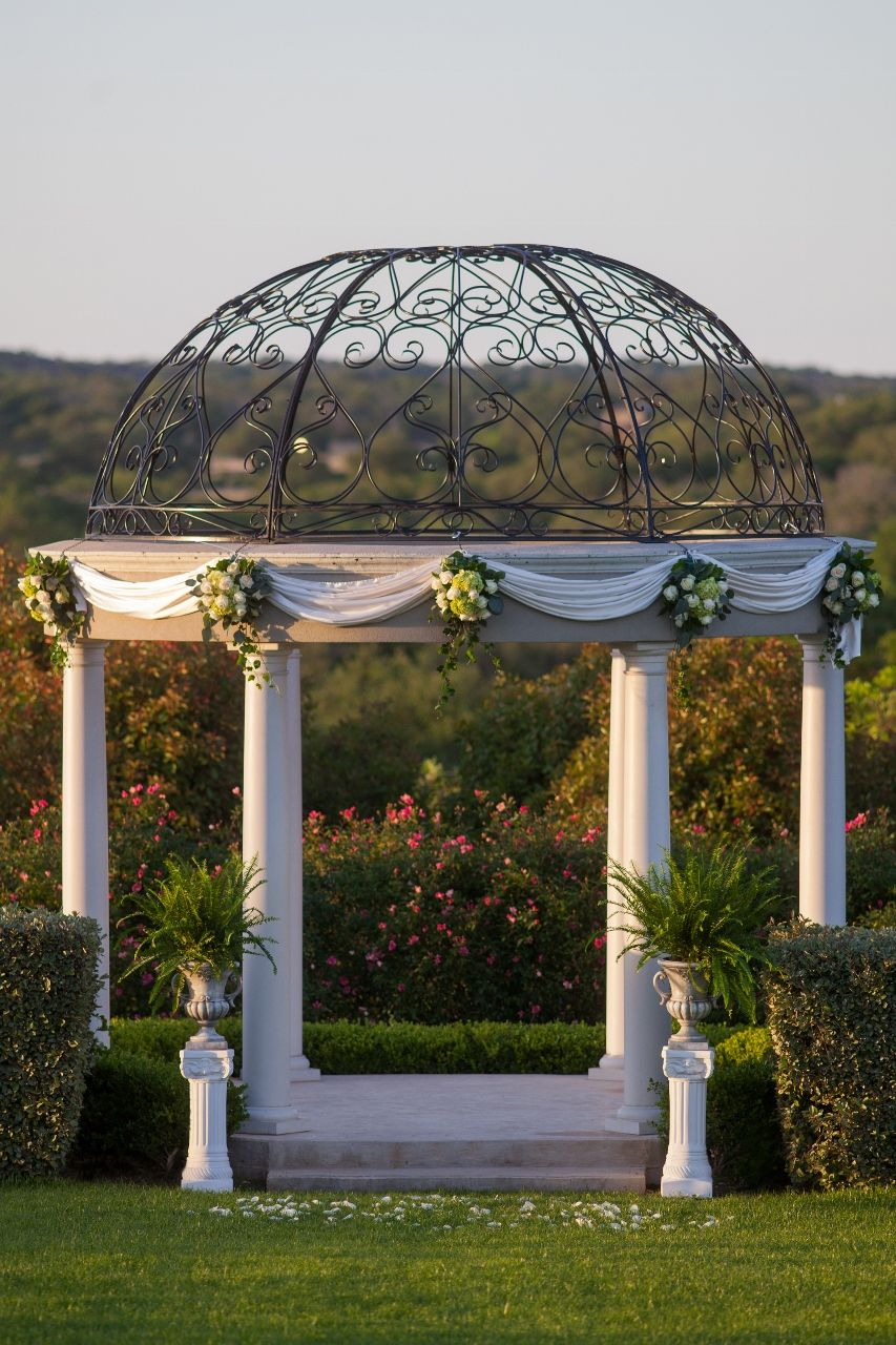 The Gazebo at The Gardens of Cranebury View http://www ...
