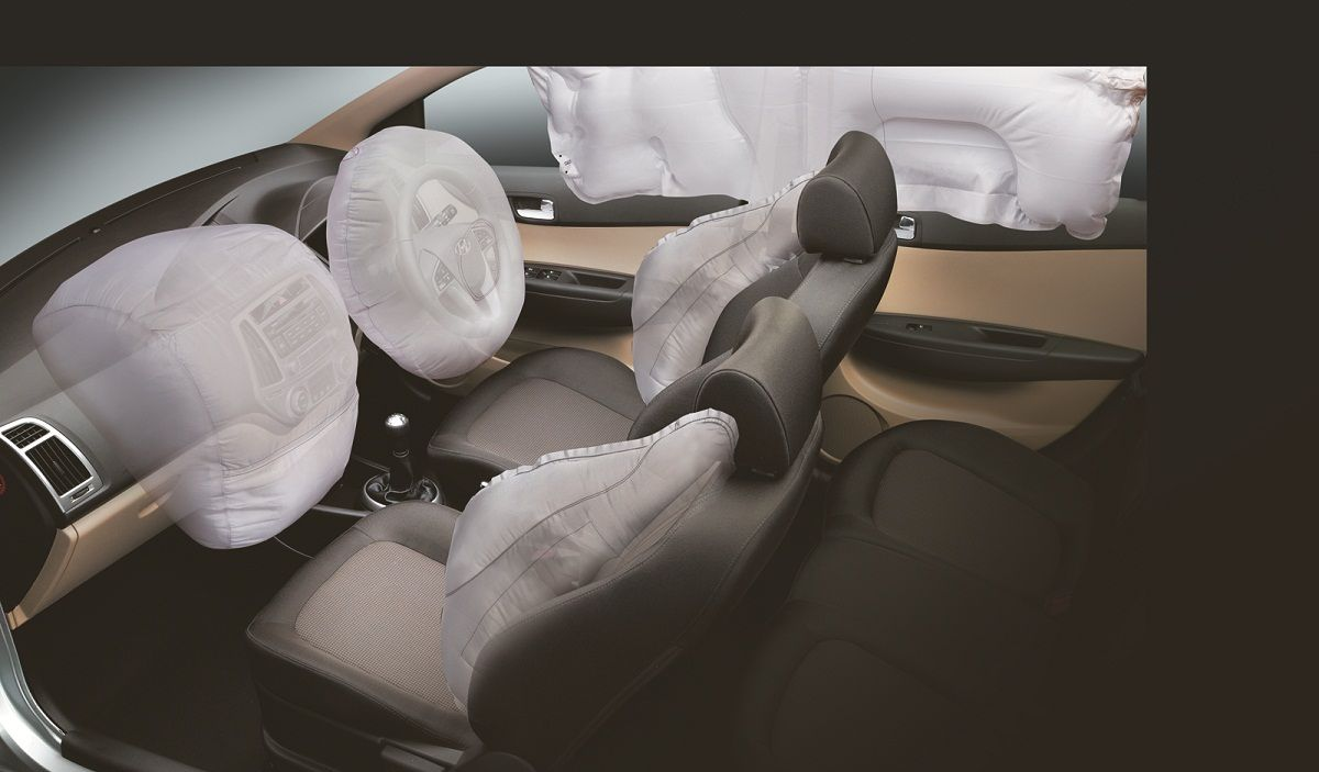 The All New I20 Is The Only Car In The Segment To Offer 6 Airbags