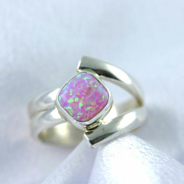 Pink opal - Native Amerian design - love this - <3