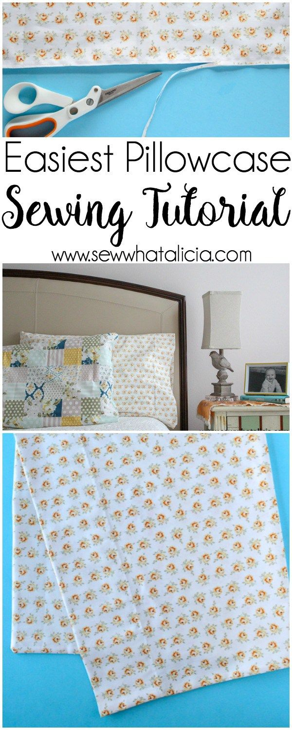 How to sew easy custom pillow cases tutorial sewing pillow how to sew easy custom pillow cases tutorial sewing pillow cases and pillows jeuxipadfo Choice Image