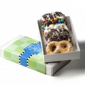 not your ordinary chocolate dipped pretzels!