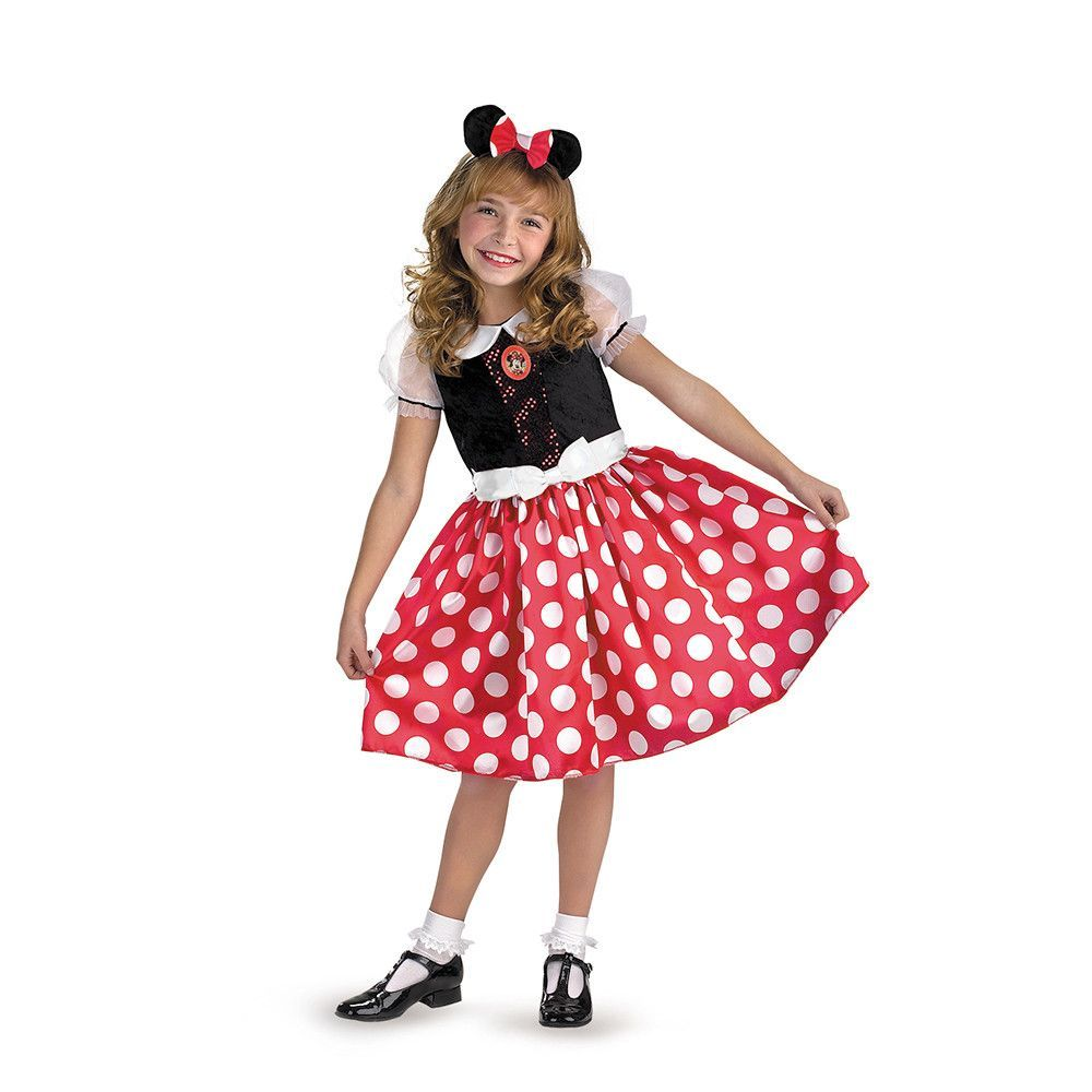 Mickey Mouse Clubhouse Disney Classic Minnie Child Toddler Costume - Minnie Mouse Halloween Decorations