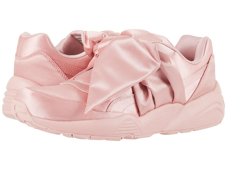 6b38372f04ec PUMA Bow Sneaker Fenty by Rihanna Women s Shoes Silver Pink Silver  Pink Silver Pink