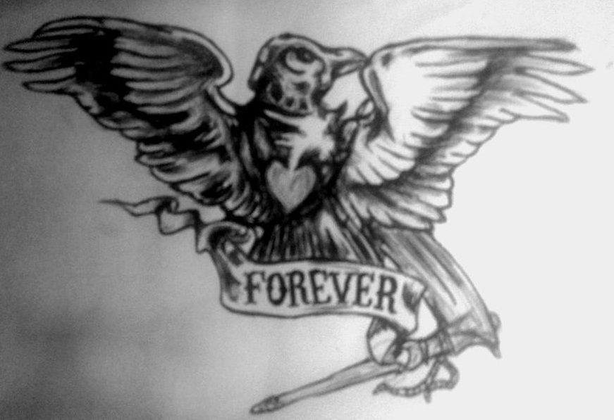 Sam Crow Tattoo By Umrl On Deviantart Crow Tattoo Sons Of Anarchy Tattoos Tattoos