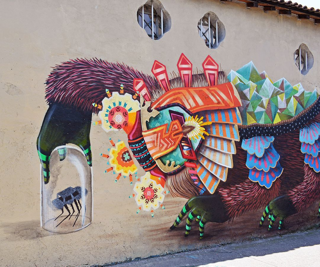 Mural Artists: Curiot New Mural In Mexico City, Mexico