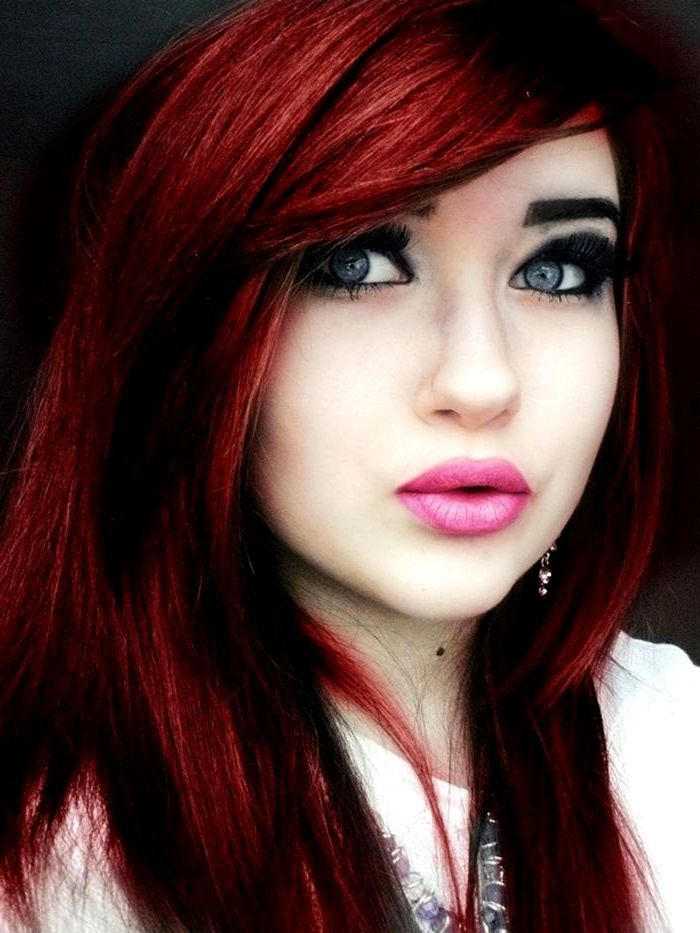 Dark Red Hair With Black Tips Best Hairstyle Trends Shades Of Red Hair Dark Red Hair Color Dark Red Hair