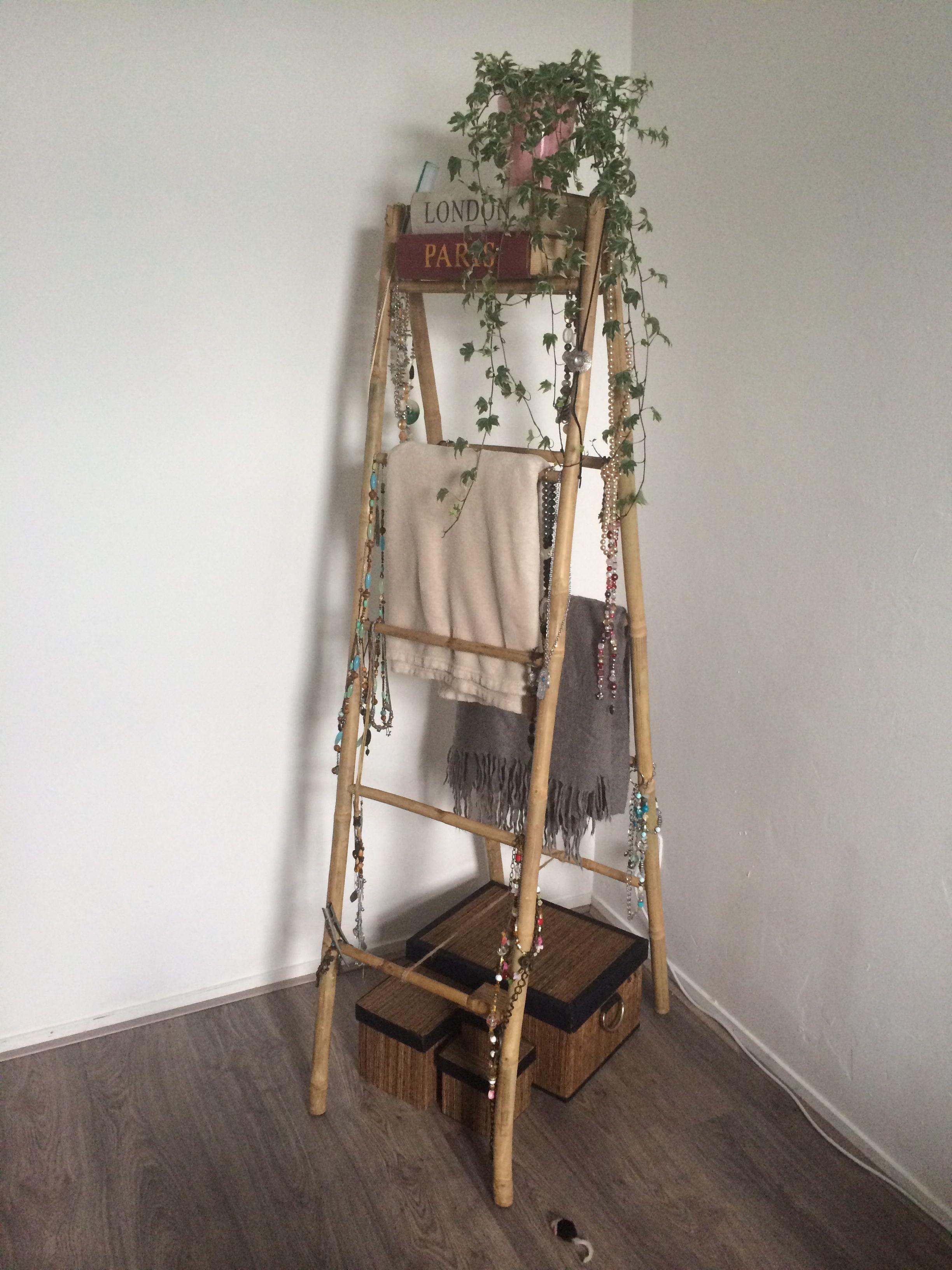 Houten Ladder Xenos.Bamboo Ladder Xenos Next Noodle In 2019 Bamboo Ladders Bamboo