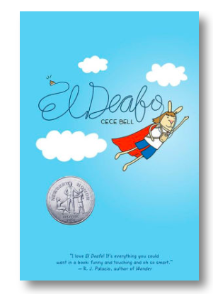 Kids Book Of The Week El Deafo My Son Loved This Graphic Novel About Growing Up Deaf Having The Deep Desire Childrens Books Middle Grade Books Graphic Novel