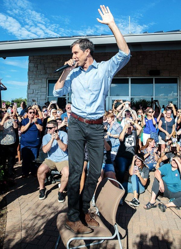 Beto  O'Rourke! Quoted THE CLASH during his debate with Cruz last nite. I love this man!!!