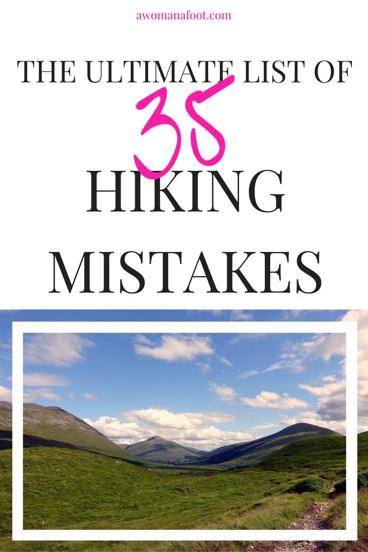 Dec hereus why you are a crappy hiker things to stop doing to