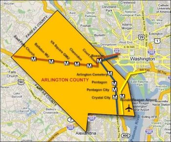 Arlington Va Map Washington Dc And More In 2019 Pinterest