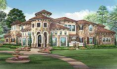 Plan 36427tx Mediterranean Mansion House Plan House In 2019 Mansions Homes Mansions House Plans