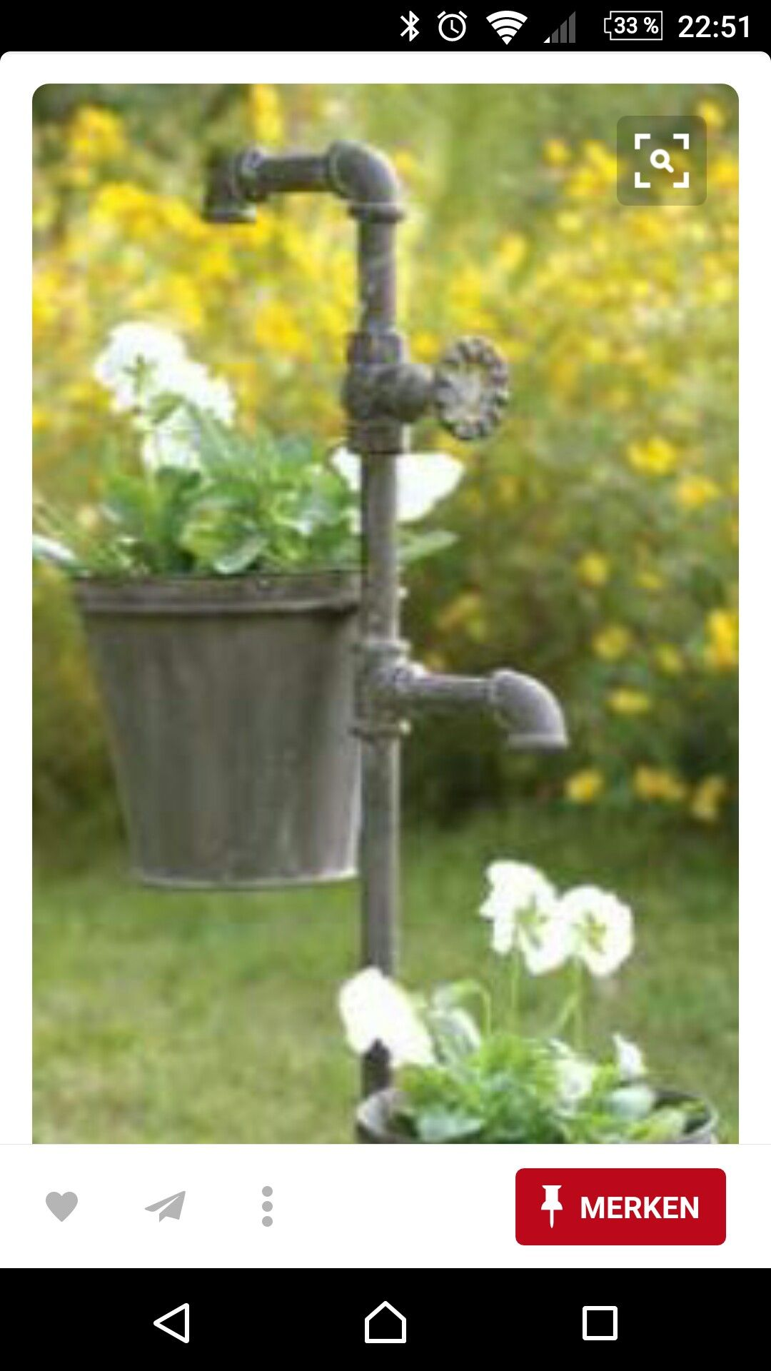 Could hang solar lights or lanterns too | Outdoor Home Ideas ...