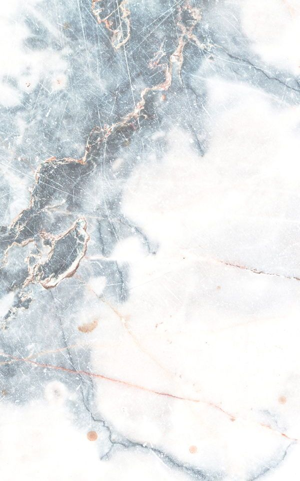 Deep Blue Clouded Marble Wallpaper Mural