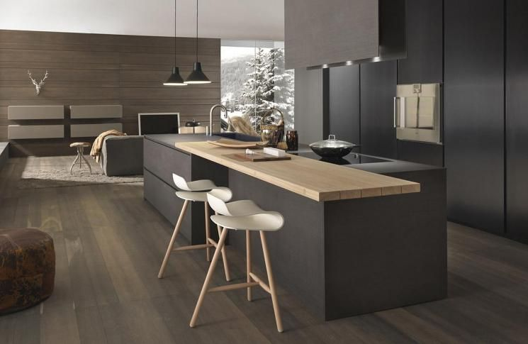 Blade | Modern Kerlite Kitchens Modulnova - Composition 8