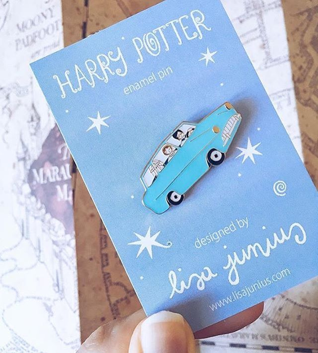 Harry Potter Ford Anglia Pin | Pinterest: heymercedes