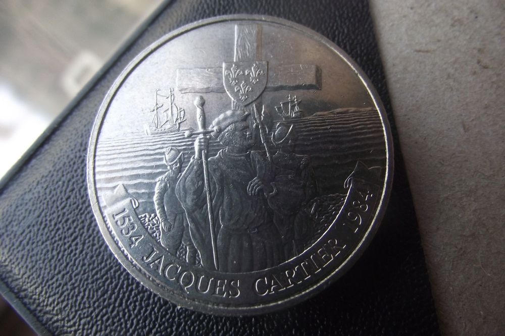 1984 Canadian Dollar Coin Commemorative  Money Canada