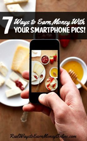 Do you love taking pics with your smartphone? Here's a list of seven different sites and apps that will actually PAY you cash for submitting and selling your high quality smartphone photos. Money Making Ideas #Money