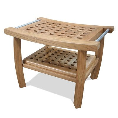 Welland Industries LLC Bamboo Shower Seat & Reviews | Wayfair ...