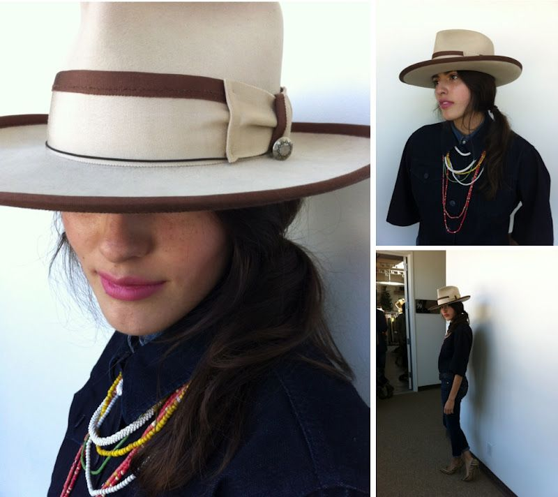 If only I was this brave.    Tomboy Style: SCENE | Behind the Scenes at Levi's® Fall 2013