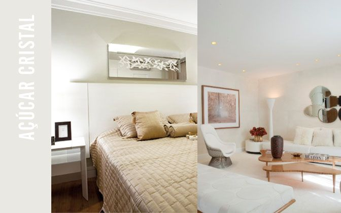 Tendência de cores claras  off white  para pintar paredes ~ Quarto Pintado Branco Gelo