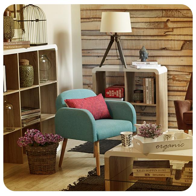 Poltrona muebles homy living r stico livideco for Muebles santiago aranjuez