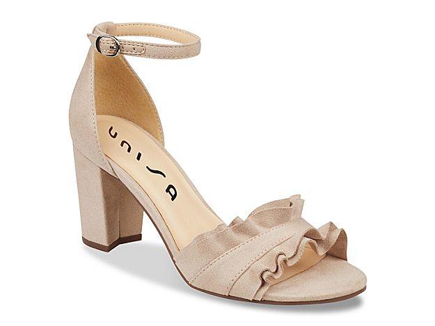 d30e58dc183 Women Un Dian Sandal -Nude Bridesmaid Shoes