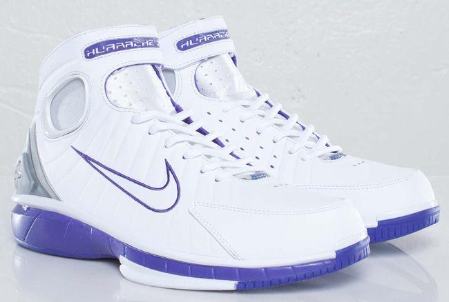 7603adc3a8a1 Nike Zoom Huarache 2k4 – White   Purple
