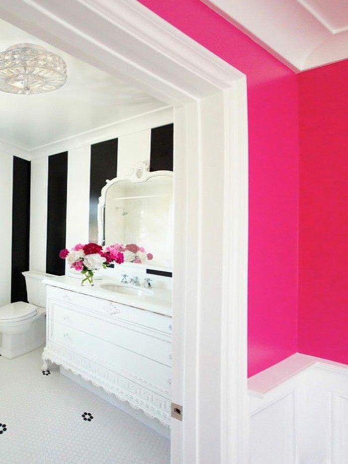 kreative auffällige wandfarben vorschläge rosige wände - wandgestaltung schlafzimmer effektvolle ideen