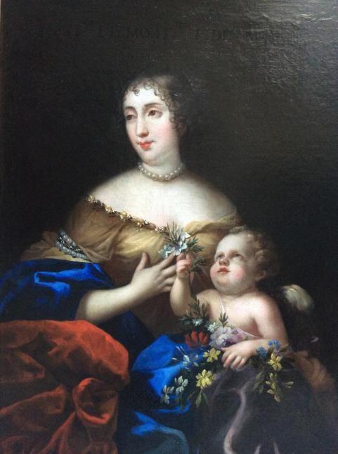 elisabeth ang lique de montmorency bouteville 2e duchesse de coligny et de ch tillon 1627. Black Bedroom Furniture Sets. Home Design Ideas