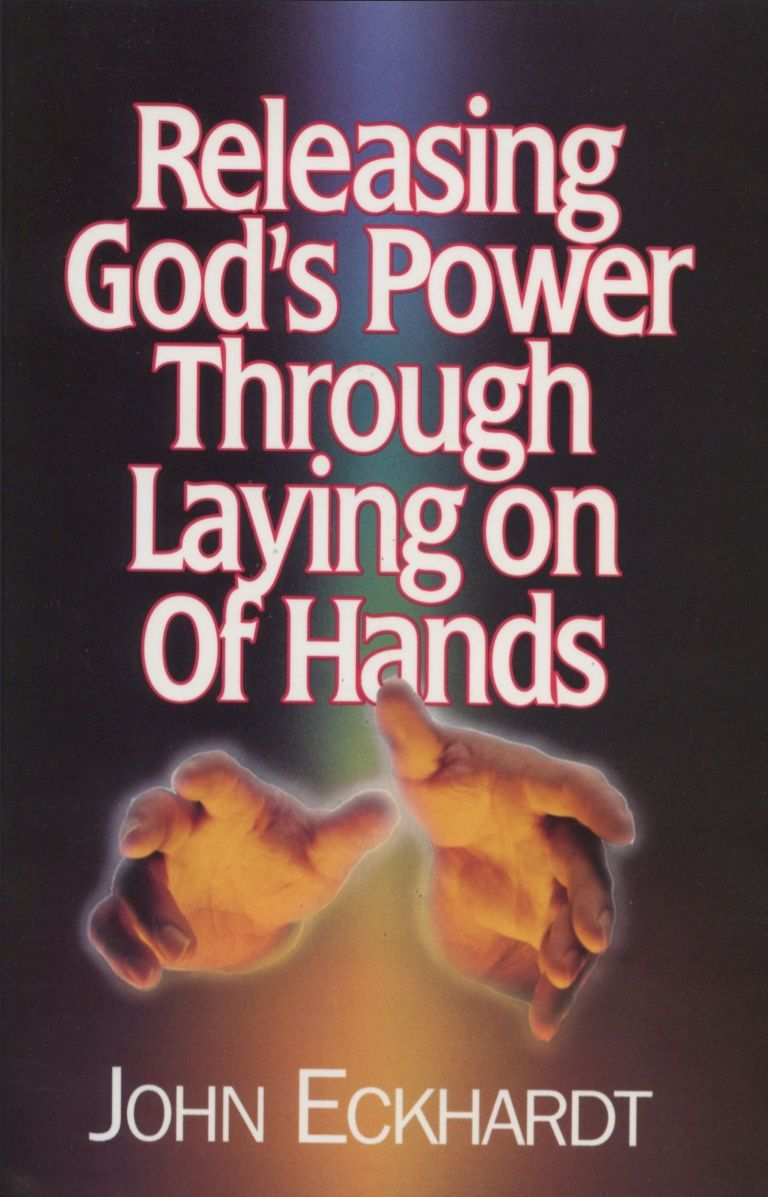 Gods power through laying on of hands