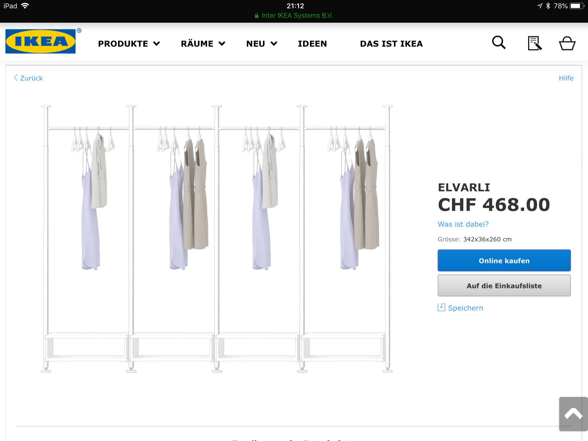 Pin By Andrea Klein On Office Wardrobe Rack Home Decor Decor