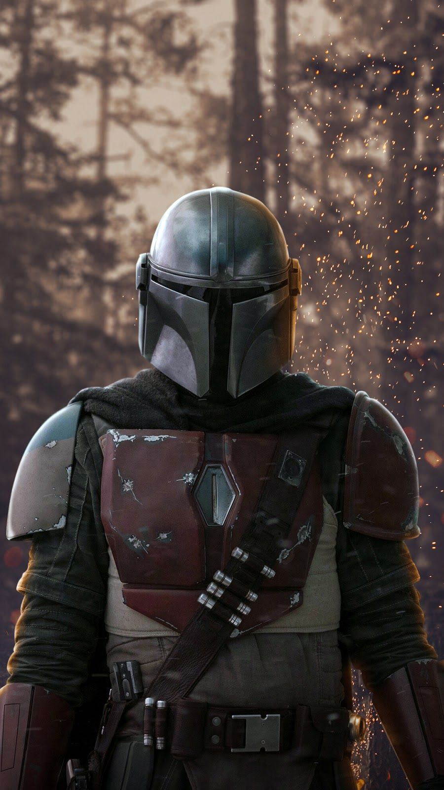 The Mandalorian Background Wallpapers Heroscreen Star Wars Images Star Wars Pictures Star Wars Trooper